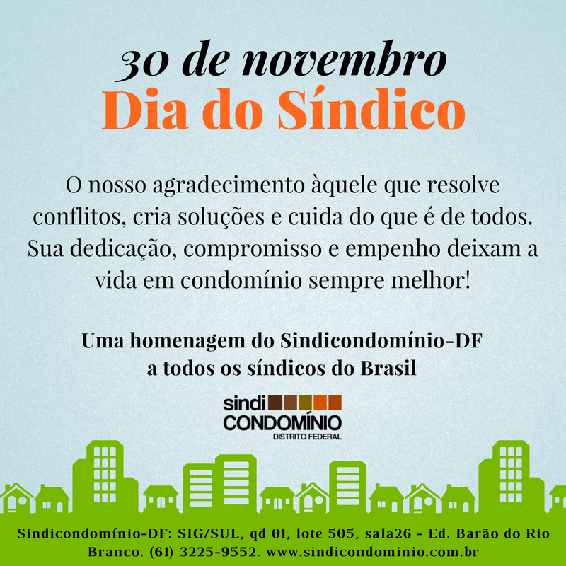 Dia do Síndico(1)