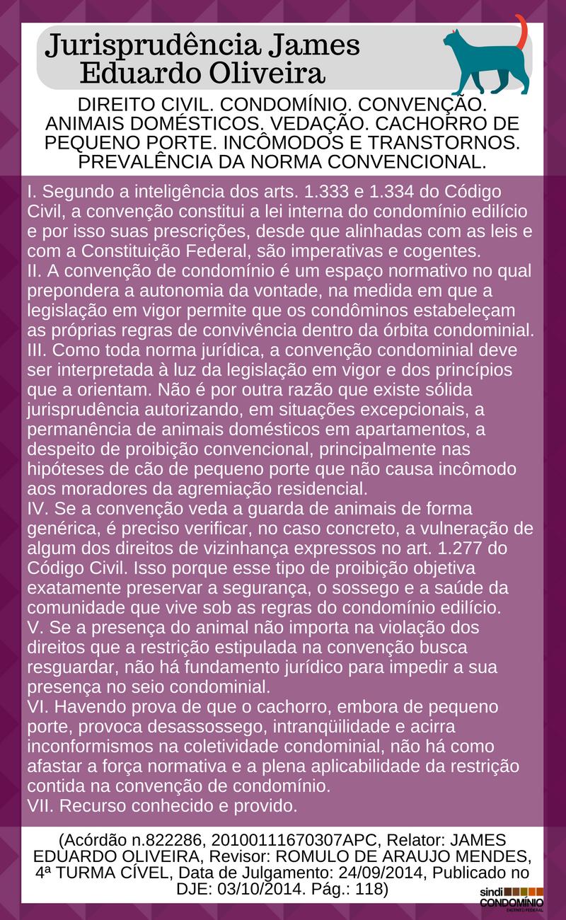 Jurisprudência James Eduardo Oliveira