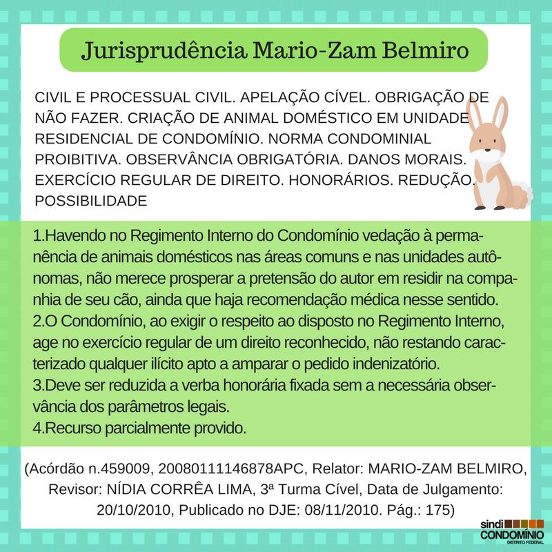 Jurisprudência Mario-Zam Belmiro