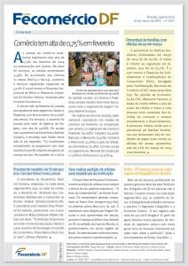 Boletim Fecomercio - 26/03/2014