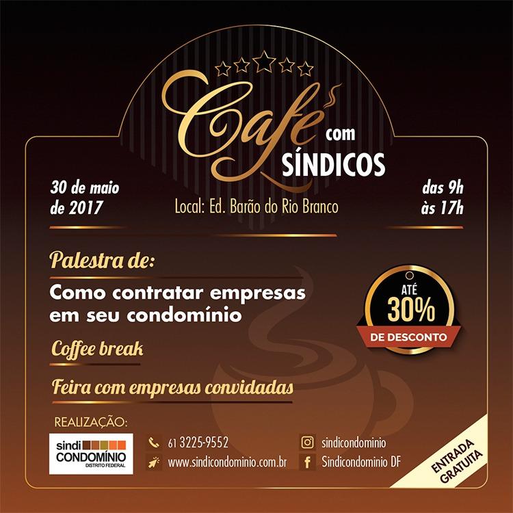 café com síndicos