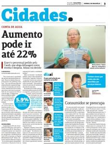 Jornal de Brasilia Cidades pag. 6 - 28/01/2014