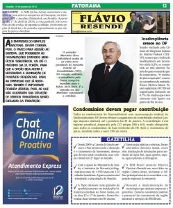 Jornal Fatorama pag. 13 - 19/01/2014