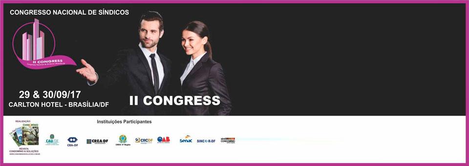 II Congress – Congresso Nacional de Síndicos